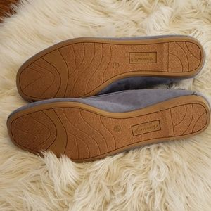 American Eagle Outfitters Shoes - NWT American Eagle Blue Faux Suede Flats, Sz 13